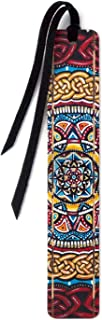 product image for Catalyst - Art by Gaia Woolf-Nightingall - Wooden Bookmark with Suede Tassel