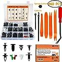 Mukool 460-Piece Auto Body Retainer Clip Kit