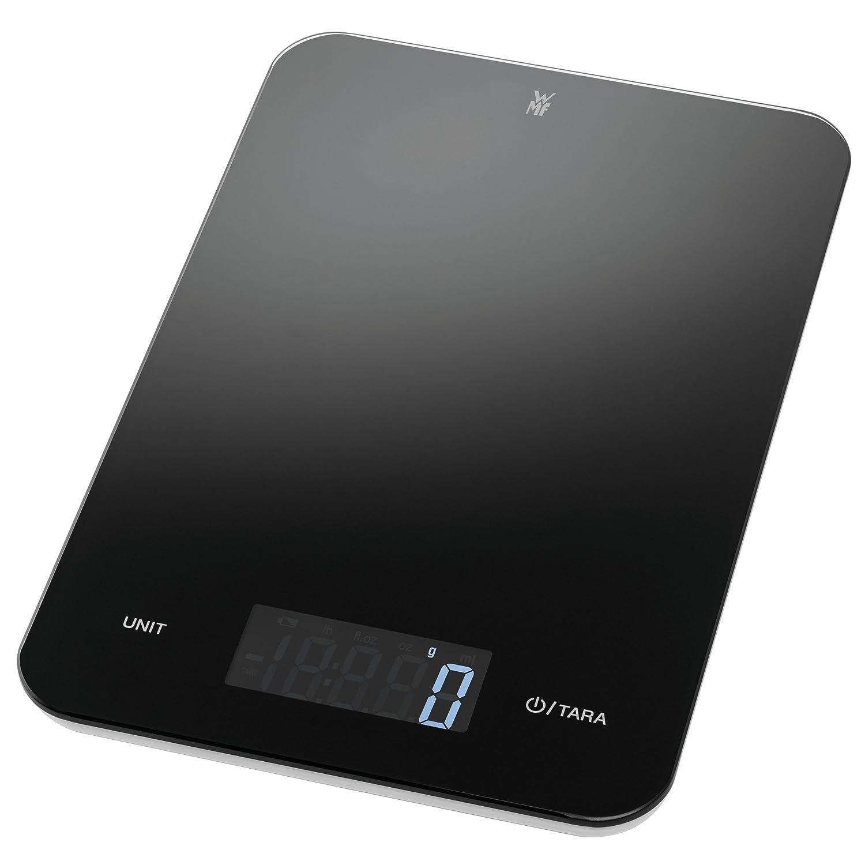 WMF Digitale Küchenwaage Backwaage Haushaltswaage schwarz grammgenau ...