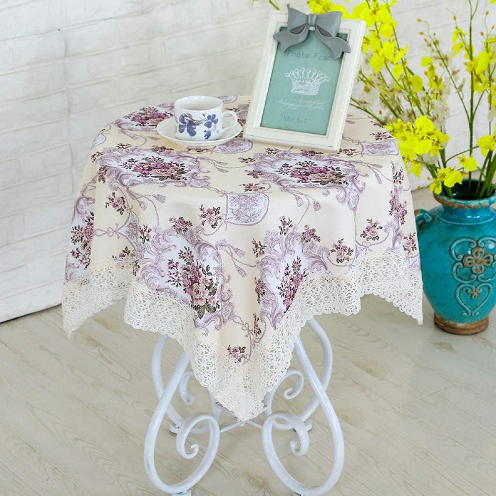 XIEPEI 2019 - Mantel de Tela para Mesa de café (algodón, tamaño ...