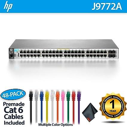 Amazon com: Aruba 2530 48G PoE+ Switch (J9772A) - 48 Ports +