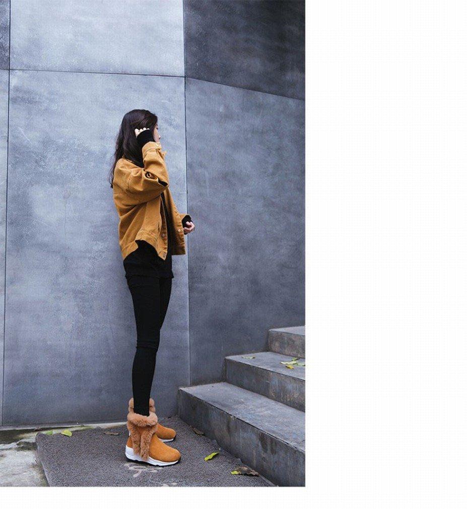 XAI Western und Kaschmir Warme Schnee Stiefel Frauen Plattform Plüsch Stiefel Winter Plüsch Plattform Stiefel Schuhe f71efc