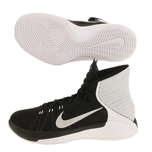 03b4fbb58e45f4 Nike Women's Prime Hype DF 2016 Basketball Shoe Black/Reflect Silver/White/ Platinum