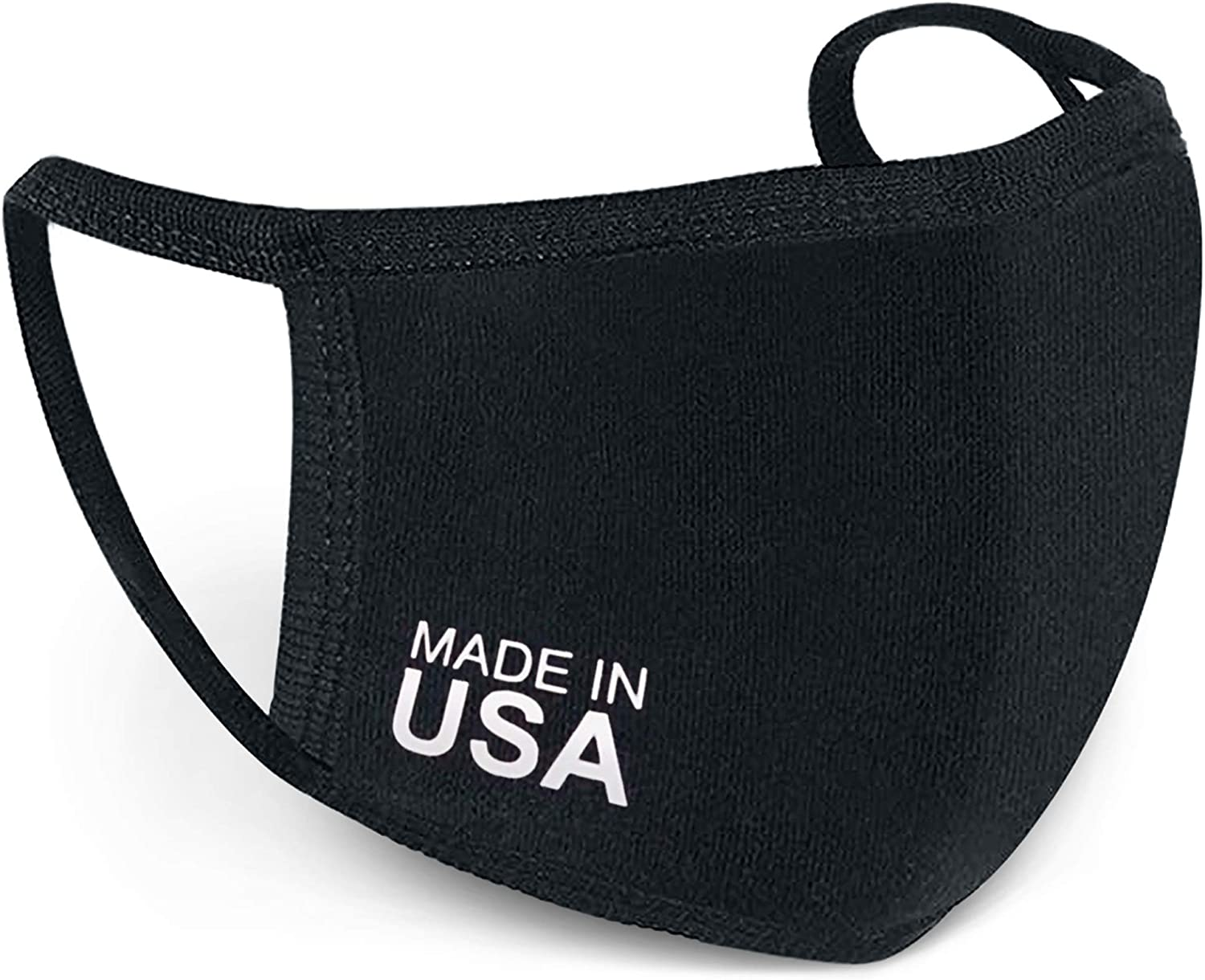 Amazon Com Reusable Face Mask Usa Made Washable Antimicrobial Cloth For Nose And Mouth 1 Home Improvement