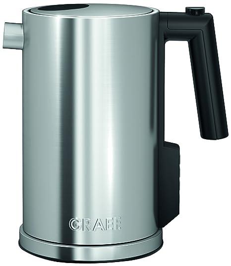 Graef WK900 - Hervidor de agua, capacidad de 1,2 l, color plateado