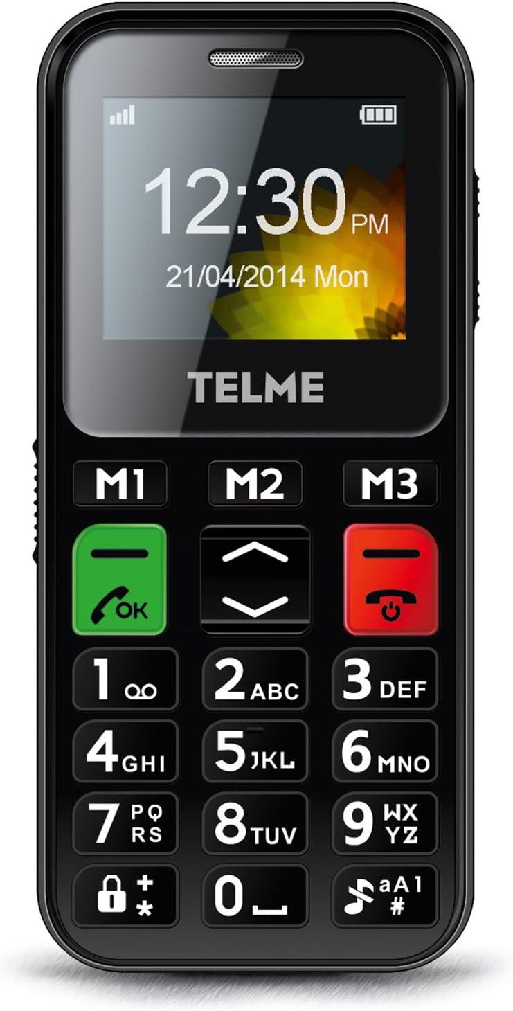 Emporia FB85 Tel/éfono Tel/éfono DECT, Terminal inal/ámbrico, Altavoz, 50 entradas, Identificador de Llamadas, Negro