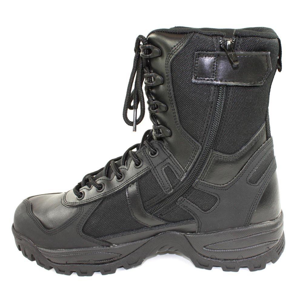 Tec Zipper Mil Patrol Schwarz39us Stiefel 6 MYkk tsQdhCr