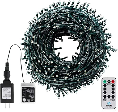 LetsFunny 108ft 300 LED Christmas String Lights, Christmas Lights – UL Certified Outdoor Indoor Fairy Lights Christmas Tree, Patio, Garden, Party, Wedding, Halloween, Holiday Decoration