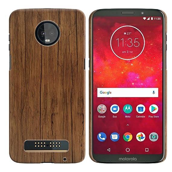 best website 1b7cd ddc42 Amazon.com: WIRESTER Case Compatible with Motorola Moto Z3 Play ...