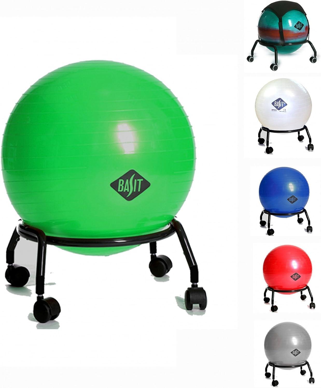 BASIT® Easy Salud silla silla de oficina + silla Diámetro 55 cm ...