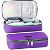 Homecube Pencil Case Big Capacity Storage - Oxford Cloth Bag Pouch Marker Stationery Organizer Holder with Zipper for…