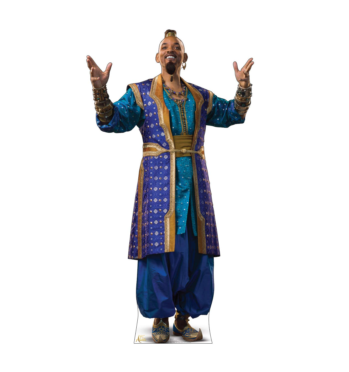 Advanced Graphics Genie Life Size Cardboard Cutout Standup - Disney's Aladdin (2019 Live Action Film)