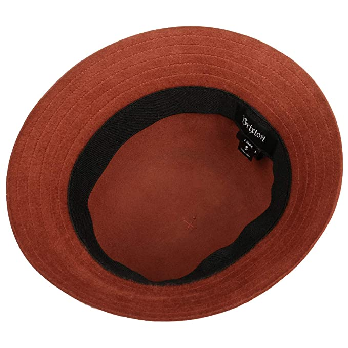 Amazon.com  Brixton Essex Bucket Hat - Rust - MD  Clothing 5f16d5d9189