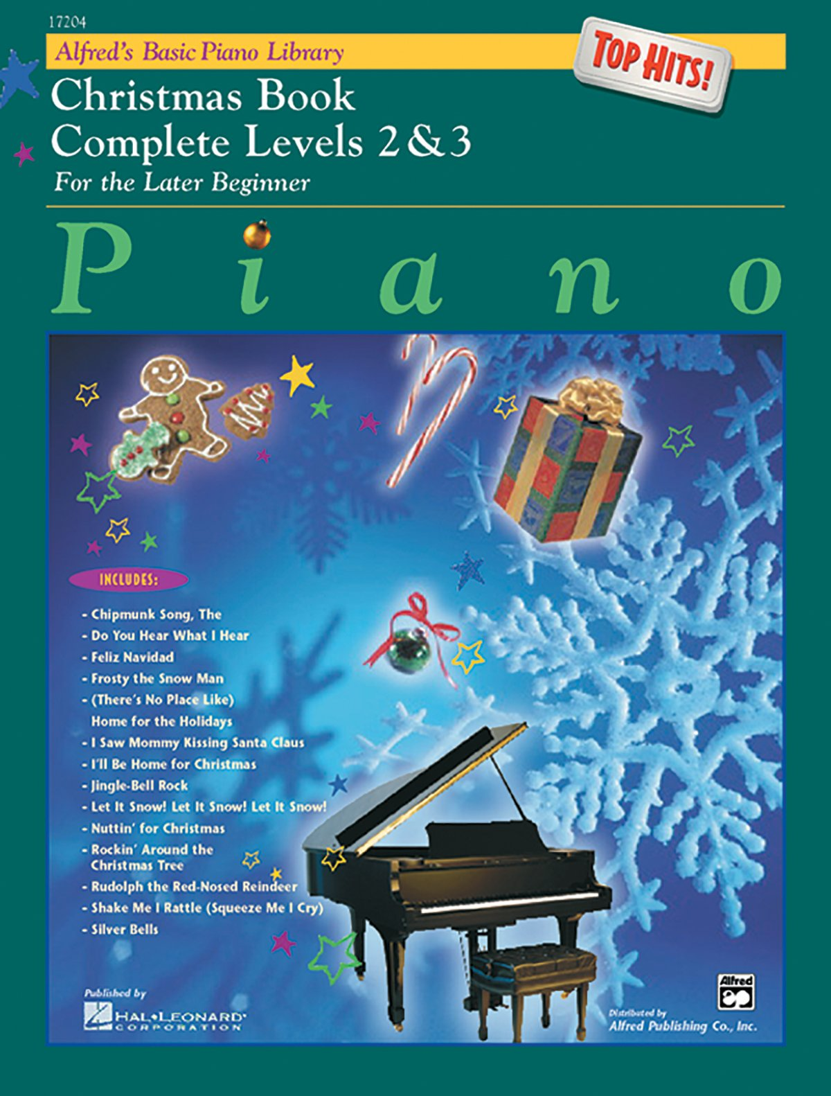 Download Alfred's Basic Piano Library Top Hits! Christmas Complete, Bk 2 & 3: For the Later Beginner ebook