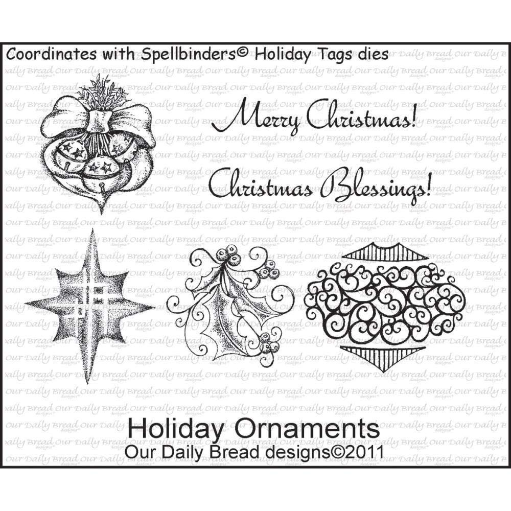 ShopForAllYou Stamping & Embossing Holiday Ornaments Clear Cling Stamp Collection Our Bread New Christmas Art