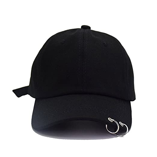5d00c97720c9 BTS Women Men Adjustable Embroidery 2 Rings Baseball Cap K-Pop Hip Hop  Bangtan Boys