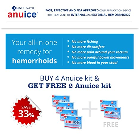 Buy Anuice - FDA Approved Medical Device for Hemorrhoid