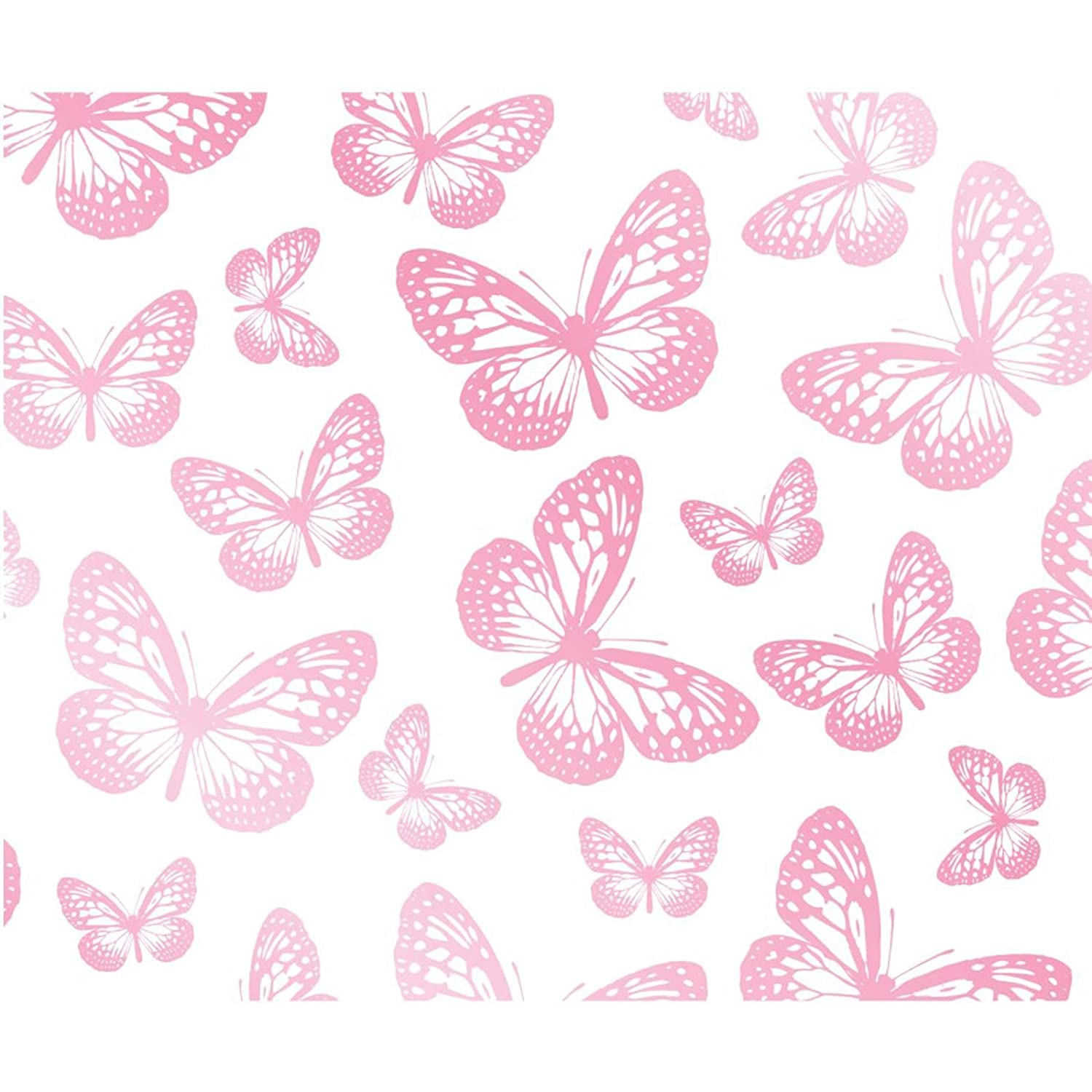 White and pink butterfly wallpaper 2019