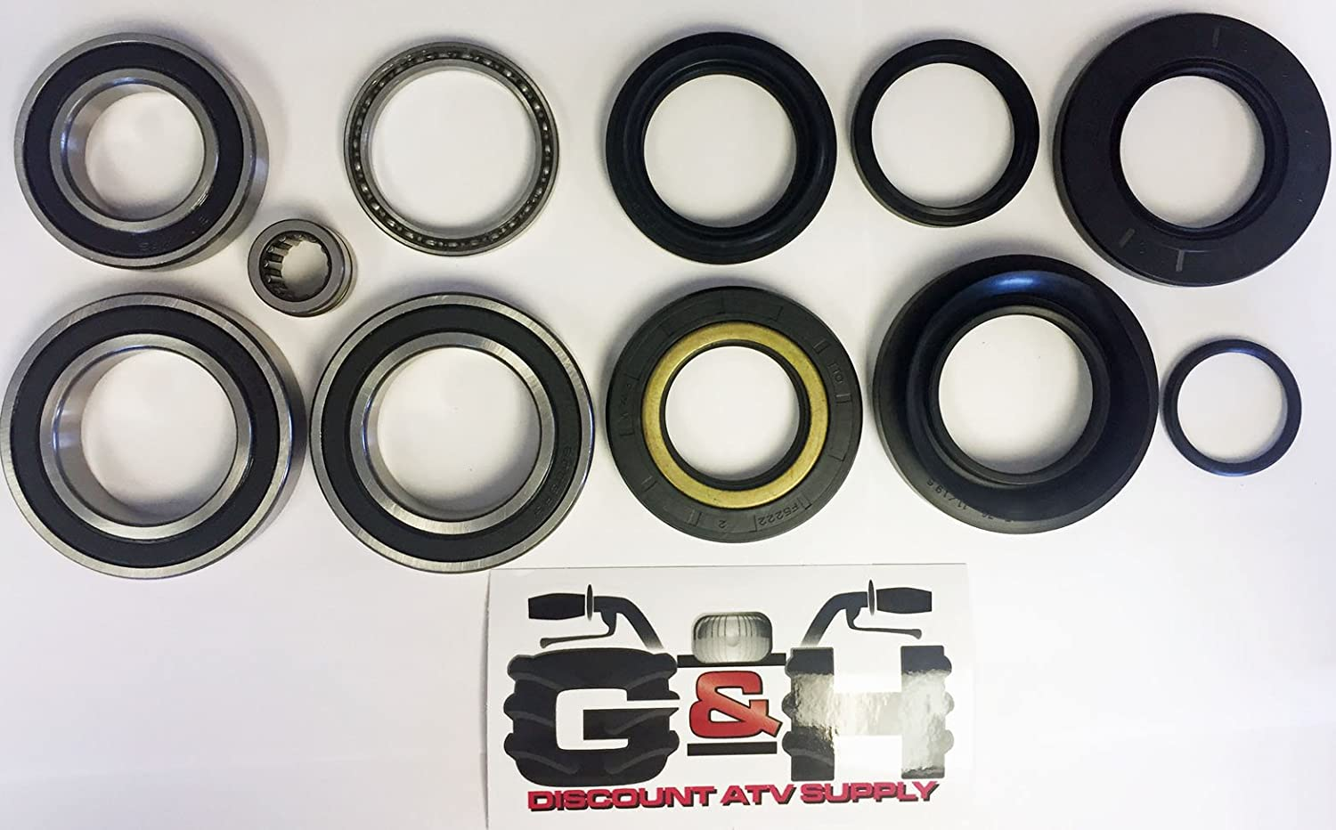 Rear Wheel Bearing Seal TRX350 Rancher 2x4 4x4 2000-2006 Complete Axle Rebuild