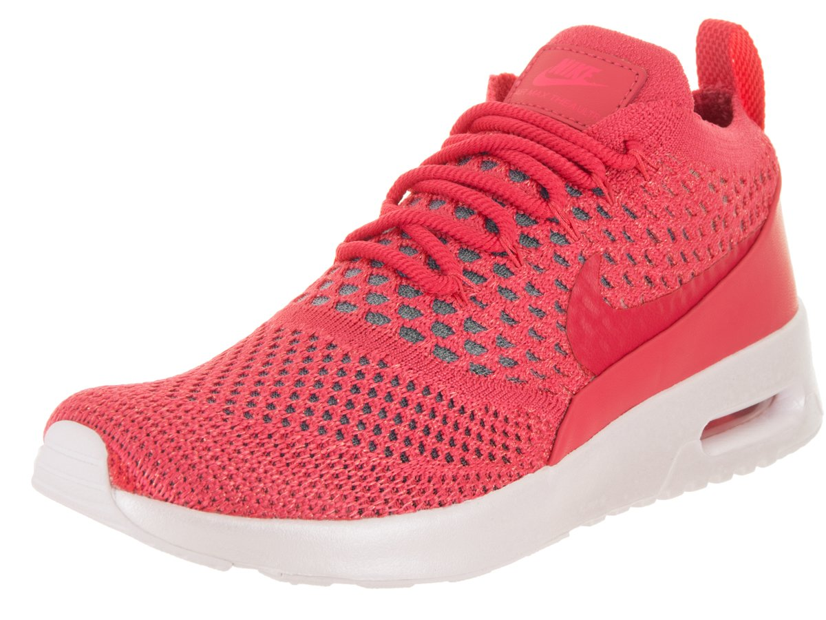 a02107e4c796 Galleon - NIKE Women s Air Max Thea Ultra Flyknit Pink White 881175-603  (Size  9)