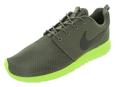 1803dec2efc62 NIKE Roshe Run Mens Running Shoes 511881-307 Tarp Green 12 M US