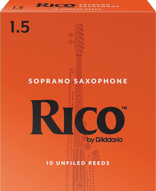 Rico by DAddario RIA0330 Soprano Sax Reeds 3-pack Strength 3.0