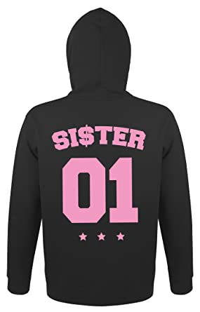 a5ace972cce1 SE-creation Partner Pulli    quot Brother quot  mit  quot Sister quot   Pullover