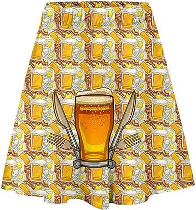 Qimanzi Vestido de tirolesa para mujer, vestido de Oktoberfest ...