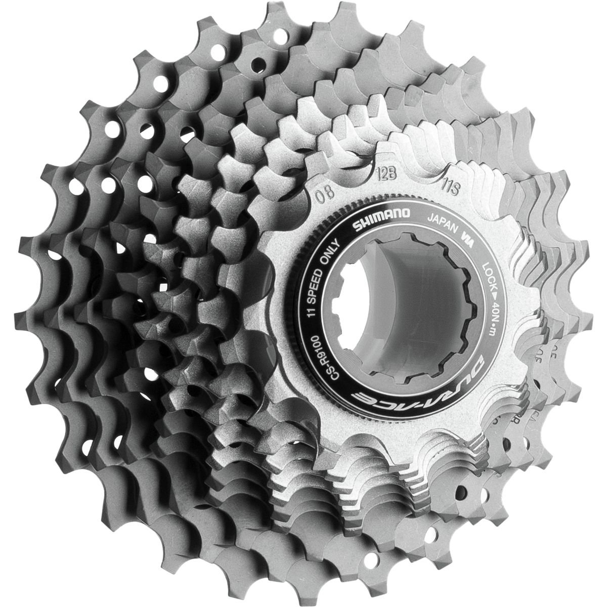 SHIMANO Dura-Ace CS-R9100 11-Speed Cassette One Color, 11-28 by SHIMANO