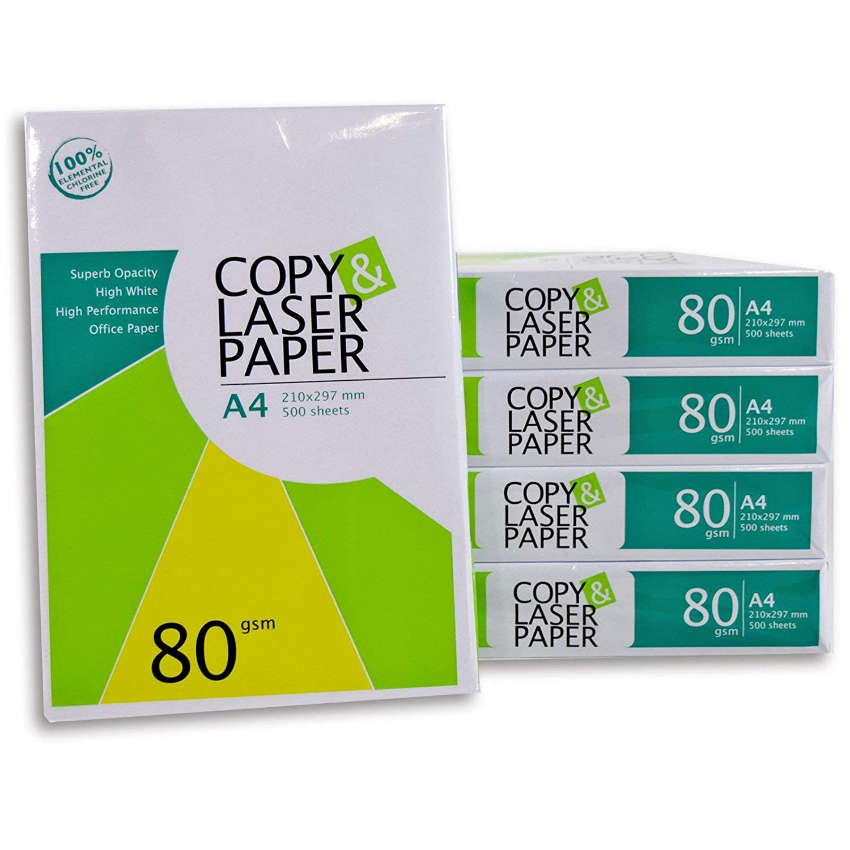 weiß Laserpapier Universalpapier Fotokopierpapier Papier für Tintenstrahldrucker Aprilasia DIN A4 80 g Kopierpapier 2500 Blatt Hochwertiges Premium Druck- und Kopierpapier von Copy /& Laserpaper Fax Druckerpapier