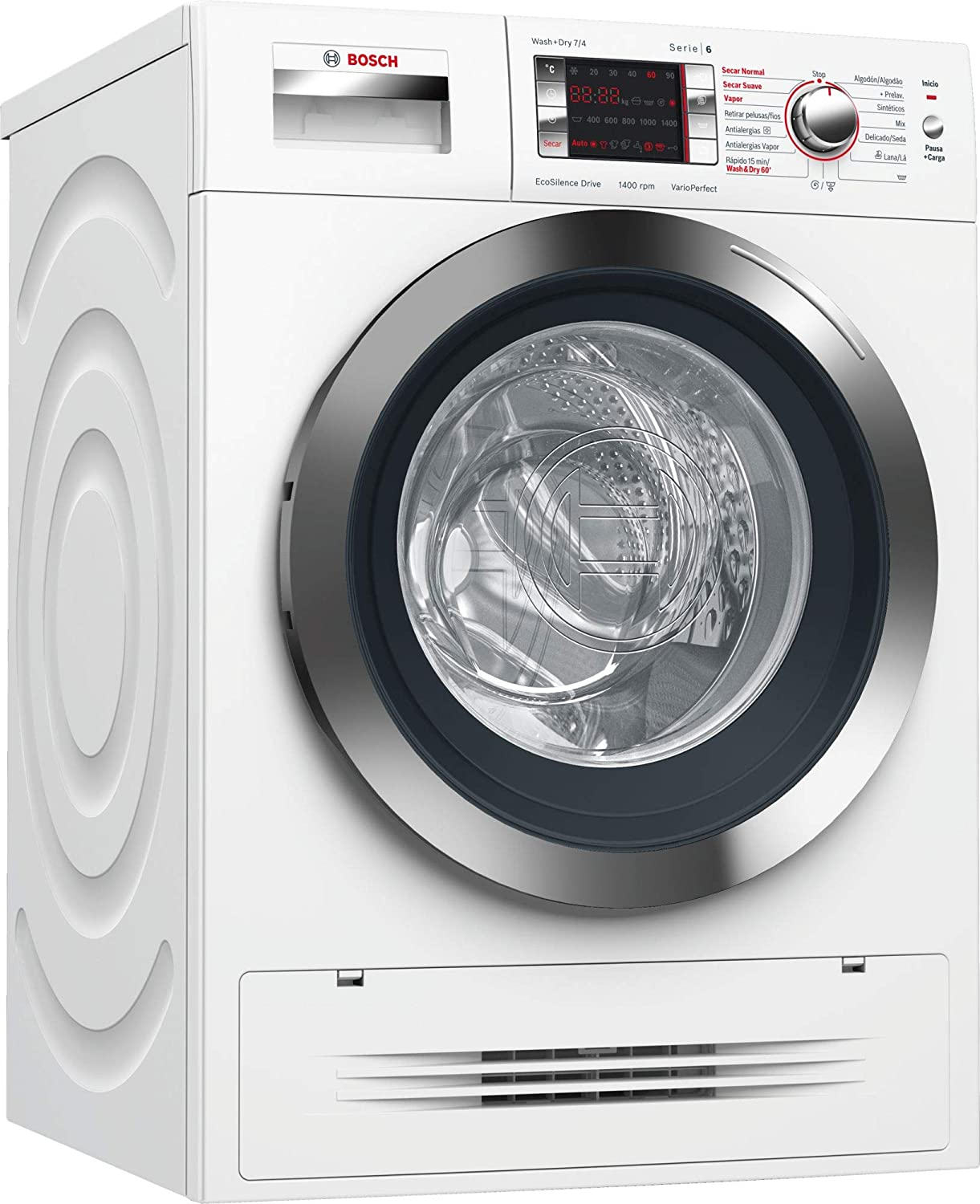 Bosch Serie 6 WVH28471EP Independiente Carga frontal A Blanco ...