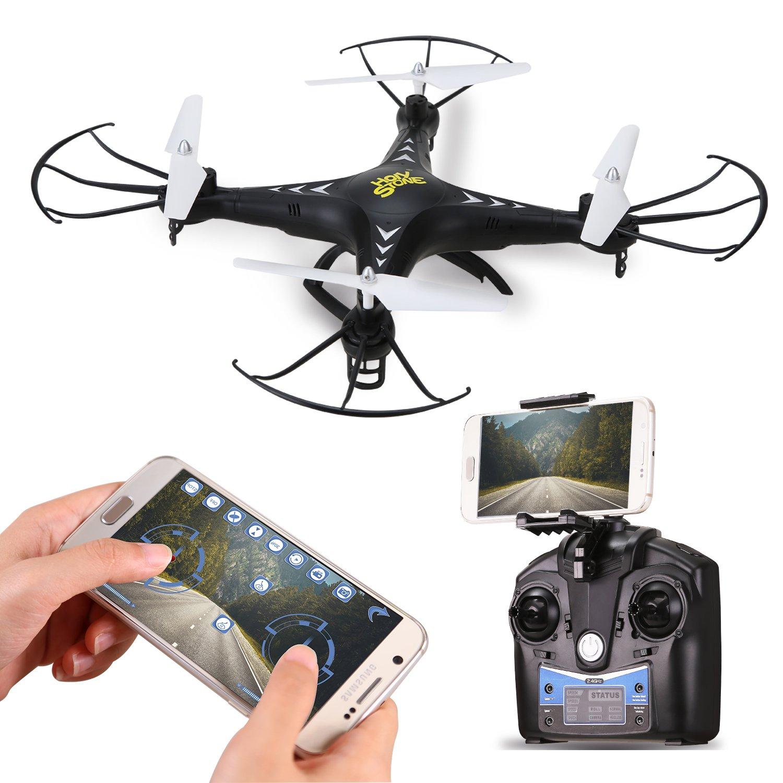 Holy Stone FPV Drohne HS110W mit 720P HD Kamera,übertragung,automatische Höhenhaltung, Schwerkraftsensor,One Key Start/Return