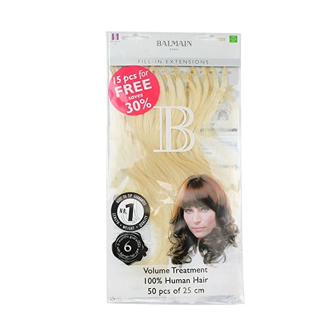 Balmain Fill In Extensions 25 Cm Extremely Light Ash Blonde Pack Of