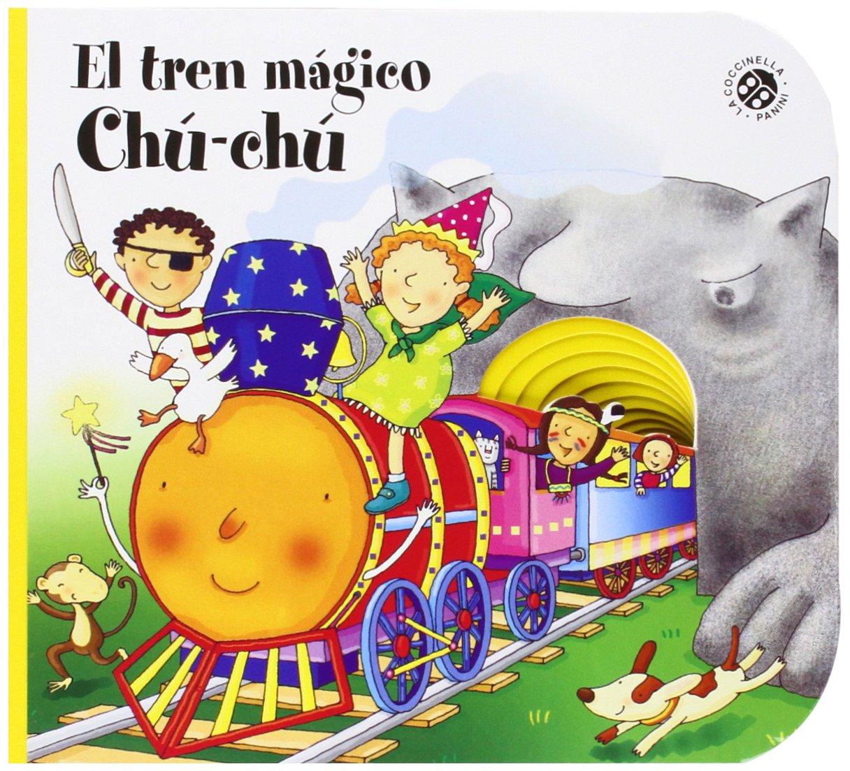 EL TREN MAGICO DE CHU-CHU - LA COCCINELL (Spanish) Board book