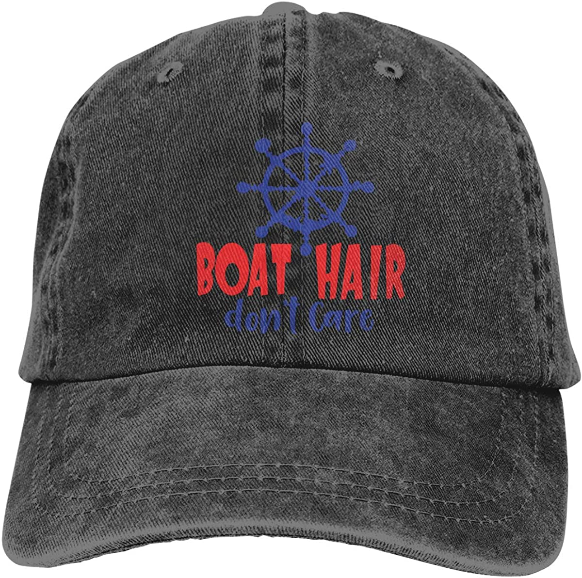 Boat Adult Personalize Cowboy Sun Hat Adjustable Baseball Cap