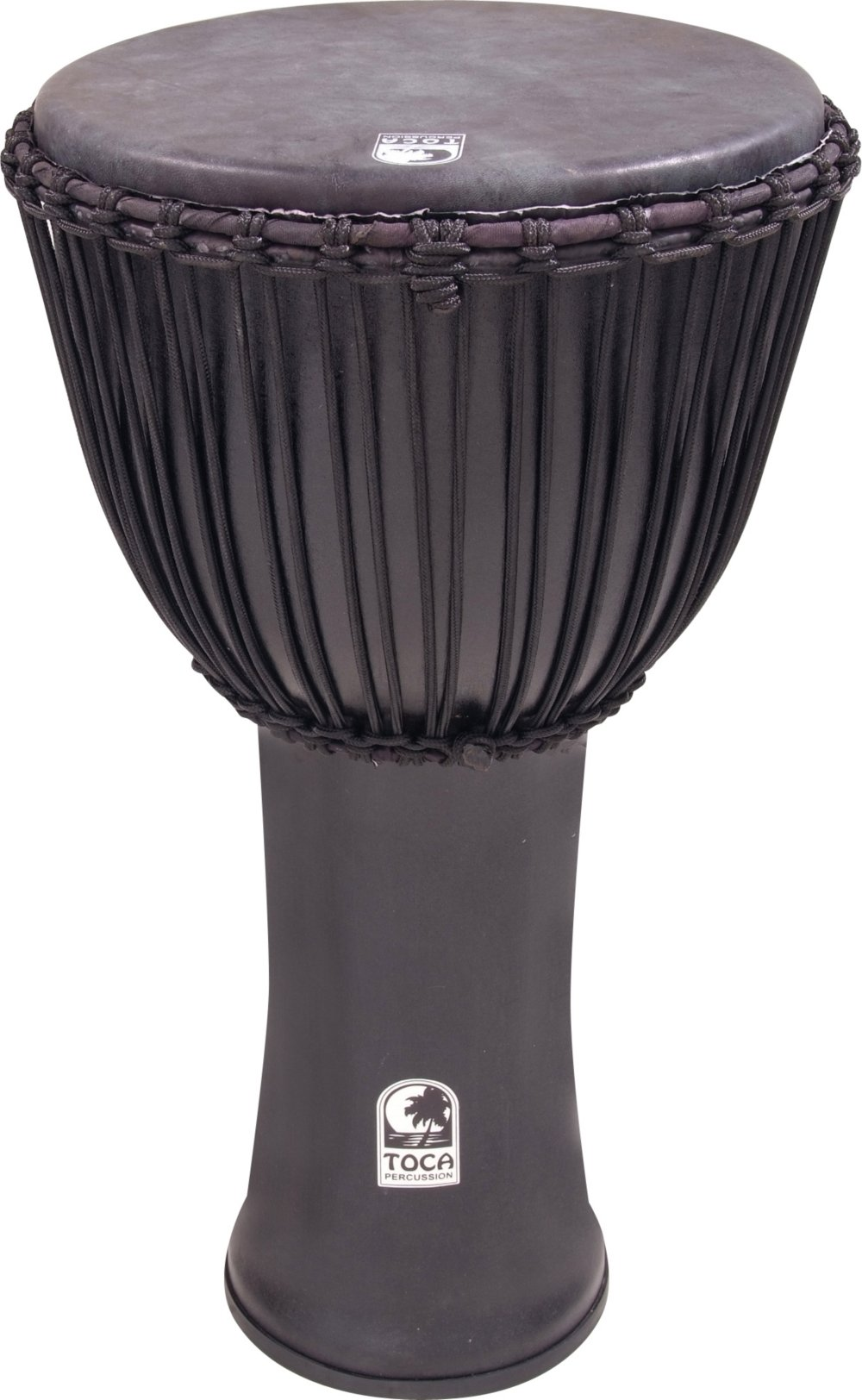 Toca Freestyle Canon Djembe 14 with Bag, Black Mamba by Toca (Image #1)