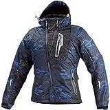 コミネ(KOMINE) JK-589 プロテクトウインターパーカ ジャケット Blue Camo/L Protect W-Parka 07-589