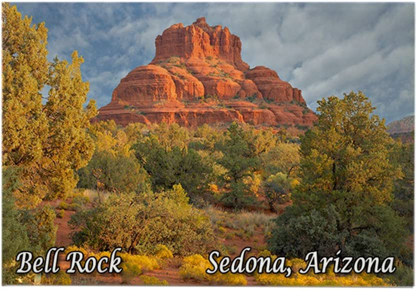 "CafePress Bell Rock, Sedona, AZ Rectangle Magnet Rectangle Magnet, 2""x3"" Refrigerator Magnet"