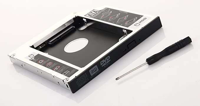 dy-tech 2 nd HDD SSD disco duro caso Caddy para Dell Vostro 1310 ...