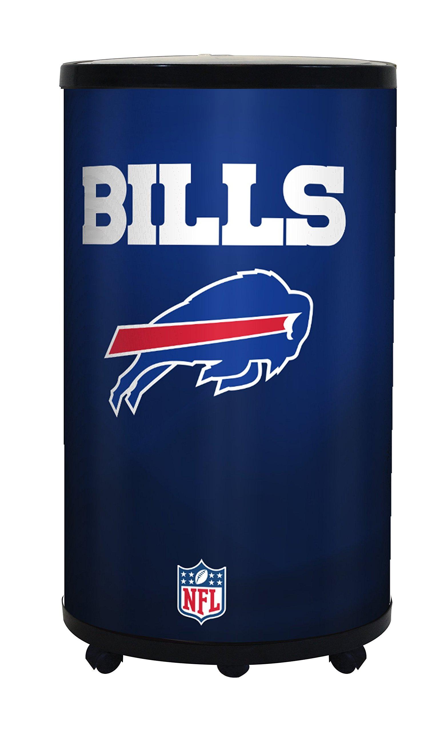 NFL Buffalo Bills Ice Barrel Cooler, Black, 19''