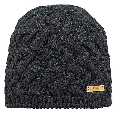 Barts Women s Swirlie Beanie - Hat - Black (Schwarz) a7d773e6e1c7