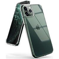 Ringke Coque Compatible avec iPhone 11 Pro, [Fusion] Transparente Légère Clair PC Back TPU Bumper Étui Anti-Choc Protection [Technologie Anti-Adhérence] pour Coque iPhone 11 Pro - Clair (Clear)