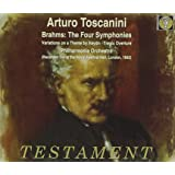 Brahms: The Four Symphonies / Tosanini, Philharmonia Orchestra