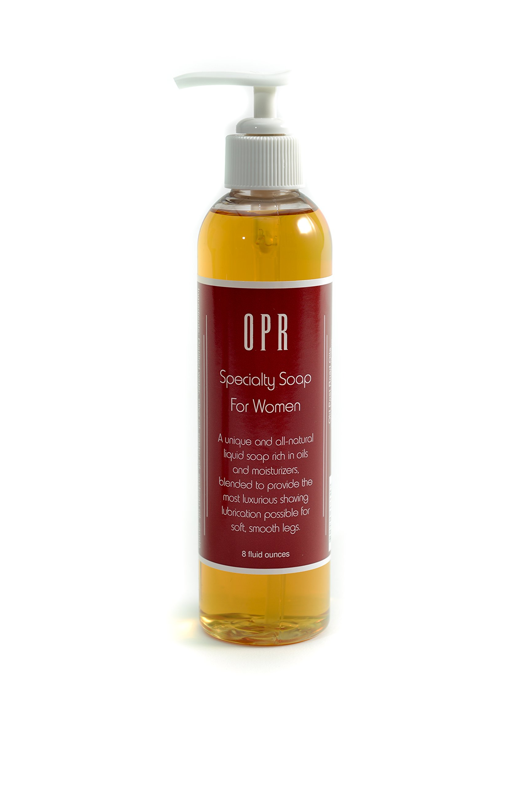 OPR Women's Speciality Soap is a Gentle Yet Vigorous All Natural Soap That leaves Your Skin feeling Smooth. It Cleanses, Nourishes and Moisturizes the skin. It Removes Make Up Without Needing A Toner. This 8 fl. oz. Bottle is Ideal for Sensitive Skin. Use
