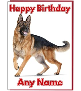 AK Giftshop Personalised Birthday Card