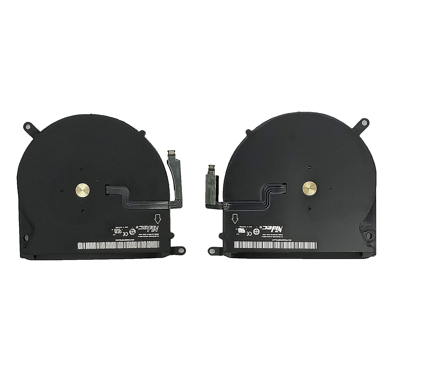 Replacement Left and Right CPU Cooling Fan Compatible with MacBook Pro 15