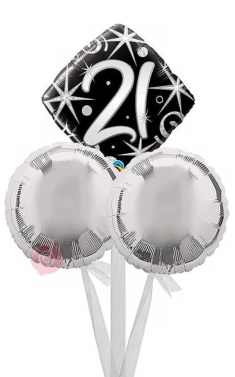 Num 21 Elegant Sparkles Swirls