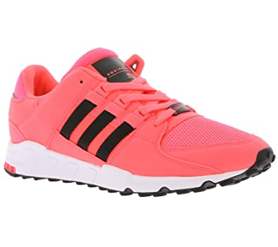 check out beda3 5ec12 adidas Mens EQT Support Rf Low-Top Sneakers, Pink (Turbocore Black