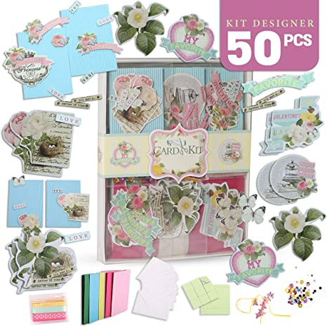 Amazing Amazon Com Pickme Greeting Card Making Kit Pack Diy Handmade Funny Birthday Cards Online Alyptdamsfinfo
