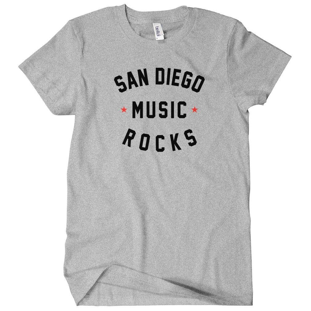 San Diego Music Rocks Tshirt